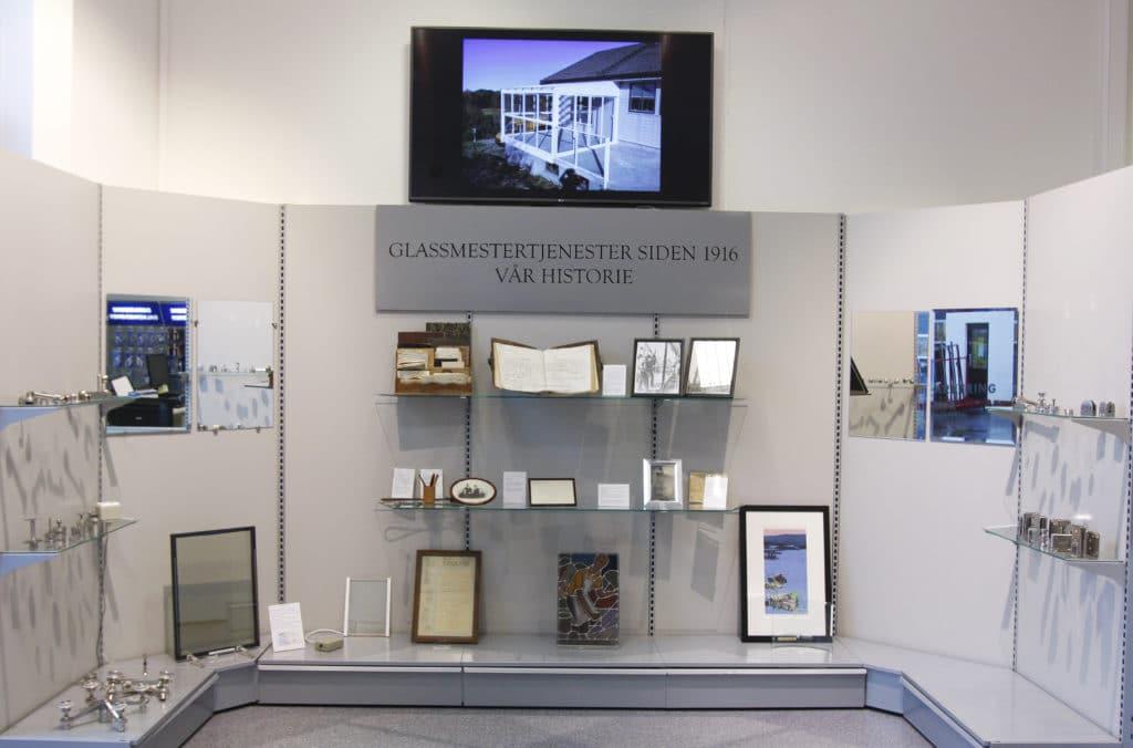 100 år med glassmestring i haugesund