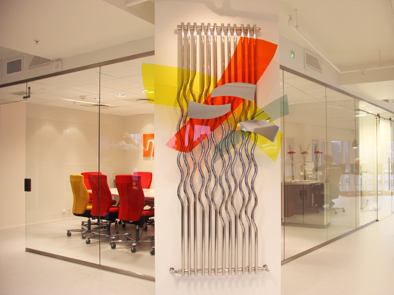 moderne møterom med glassvegg i haugesund